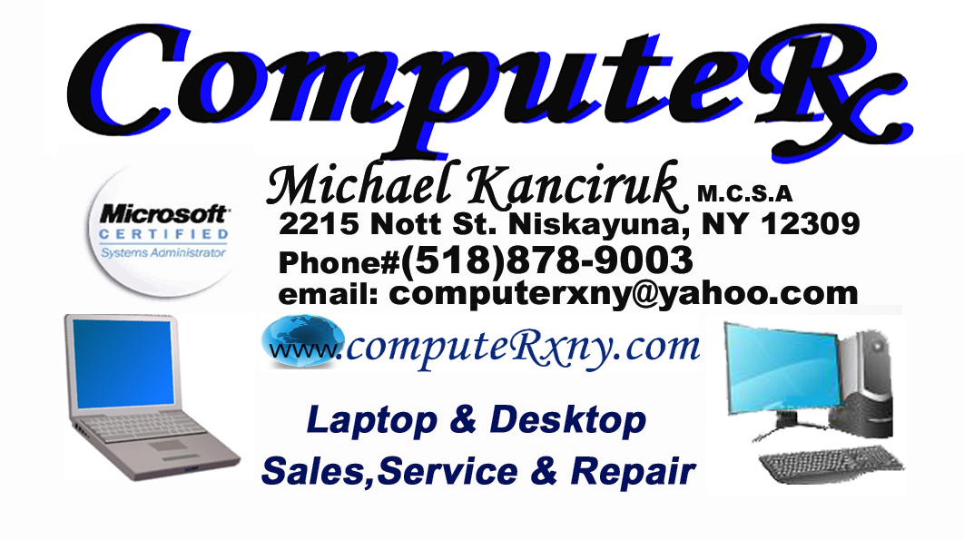 ComputeRx Laptop & Desktop Repair and Sales